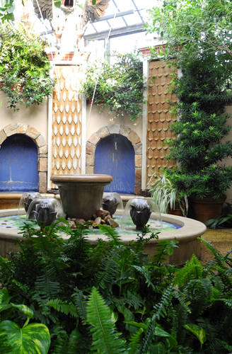 Longwood Gardens Indoor Children's Garden Fountain Landscape