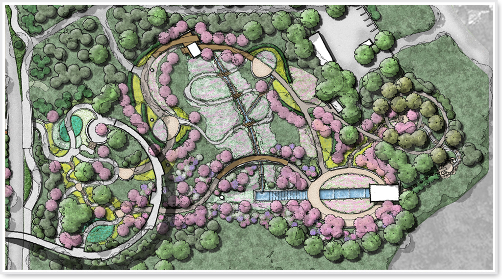 Atlanta botanical garden storza woods garden design for Botanical garden design