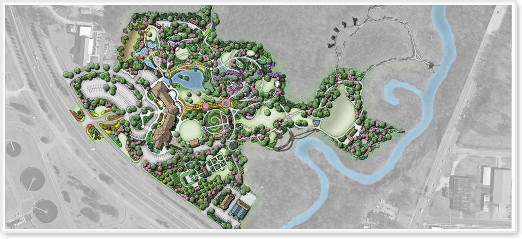 Cape Fear Botanical Garden Master Plan