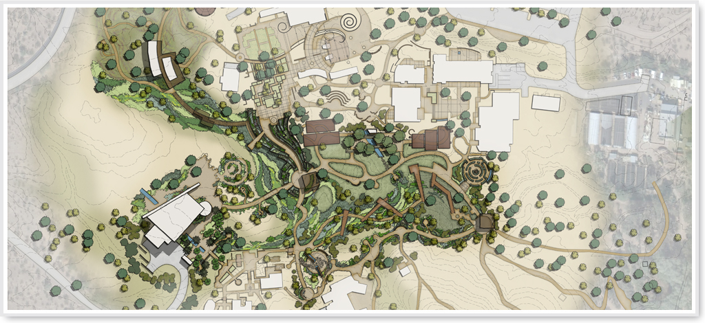 Desert botanical garden core trail master plan for Botanical garden design